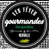 Logo Fêtes gourmandes Desjardins de Neuville