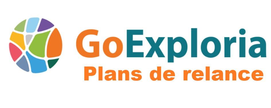 Logo Go Exploria Plans de Relance