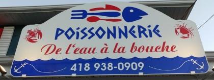 Logo Poissonnerie de l'eau à la bouche