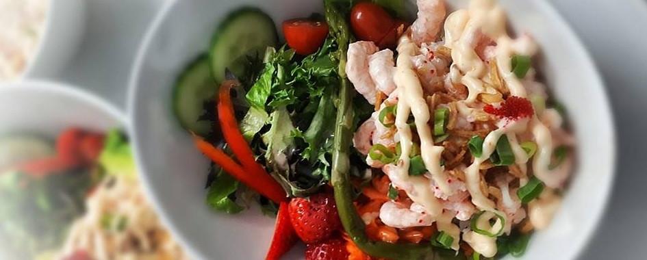 Délicieuses salades