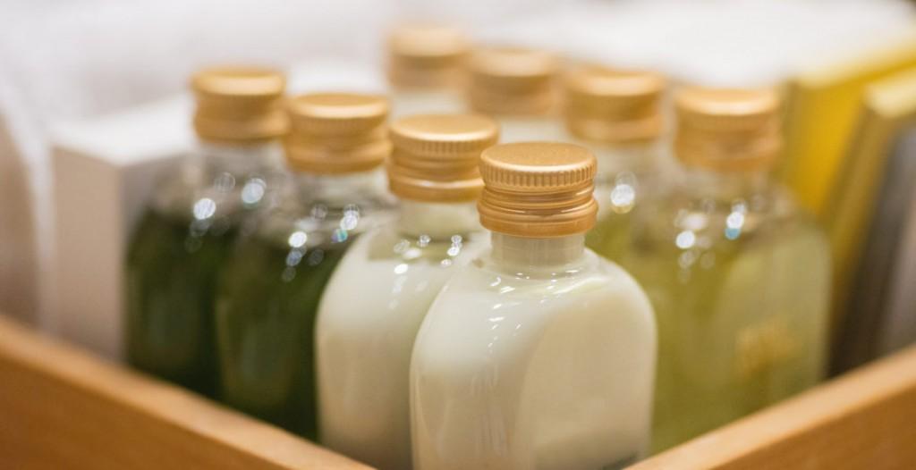 Le shampoing et le revitalisant au thé vert Fairyza