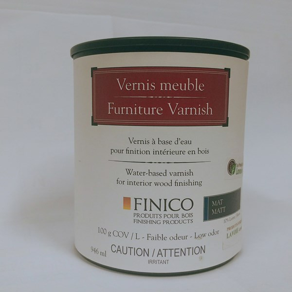 Vernis meuble Vernis meuble – Finico Format : 250 ml, 946 ml, 3,78 L