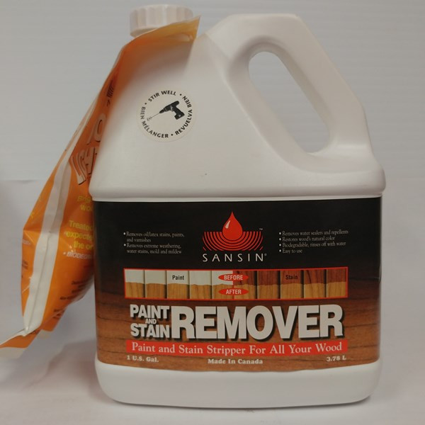 Paint and Stain Remover – Sansin Format : 3,78 L.