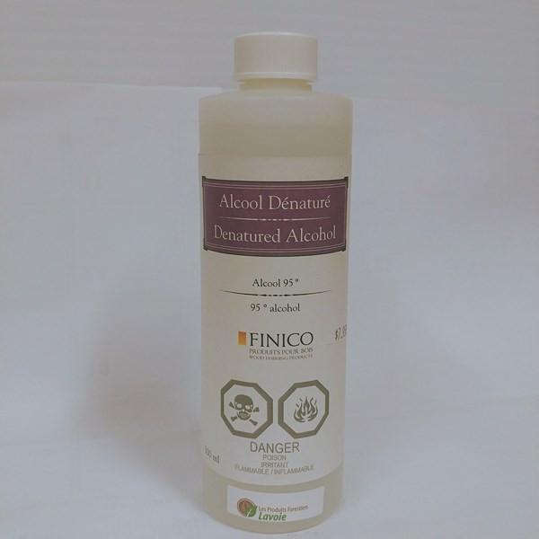Alcool dénaturé Alcool dénaturé – Finico Format : 500 ml, 946 ml.