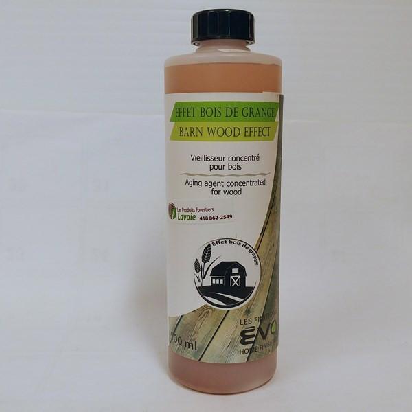 Effet bois de grange – ÉVO Format : 500 ml et 946 ml.