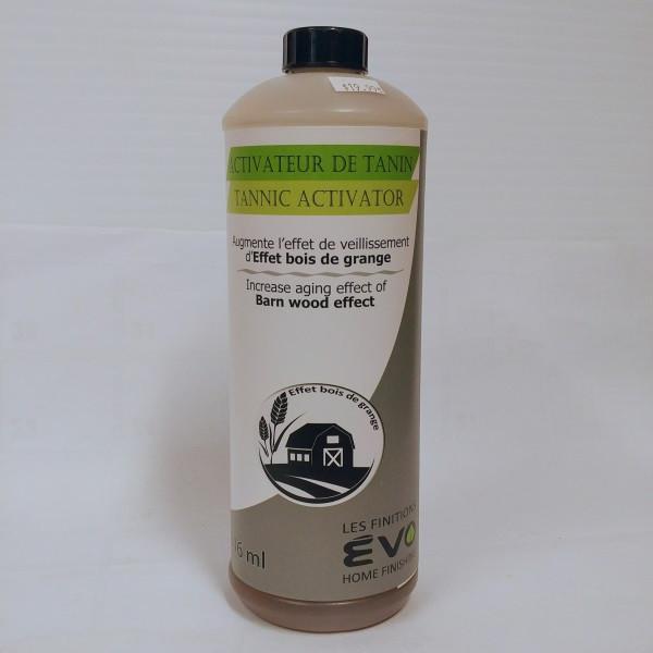 Activateur de tanin Activateur de tanin – ÉVO Format : 946 ml et 3,78 L.