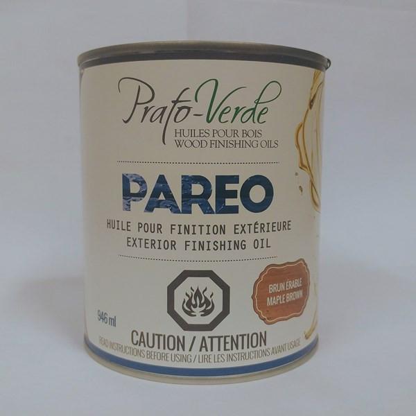 Pareo – Prato-Verde Format : 250 ml, 946 ml, 3,78 L.  Fiche technique  Fiche signalétique