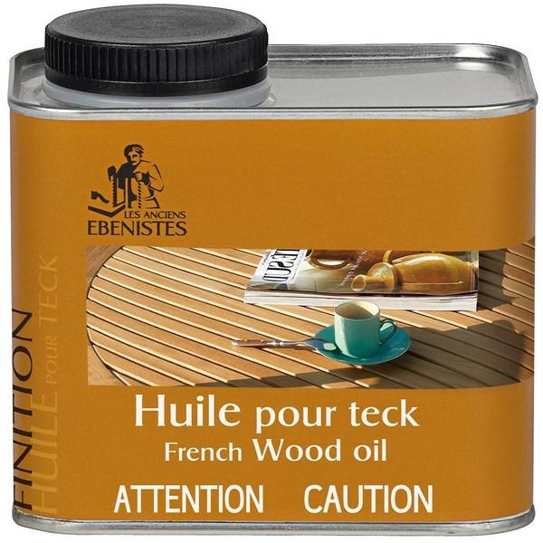 Huile pour teck – Les anciens ébénistes Format : 450 ml.