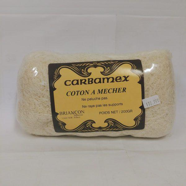 Coton à mecher carbamex – Briançon Format : 200 g.