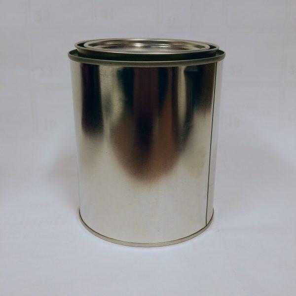 Contenant de peinture vide Format : 250 ml, 946 ml et 3,78 L.