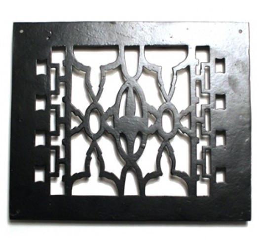 Grille de plancher en fonte 8″x10″ Grille de plancher en fonte 8″x