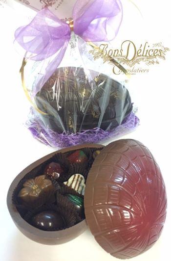 Oeuf en chocolat 12 morceaux