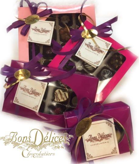 Boite de chocolats fins 6 à 30 morceaux