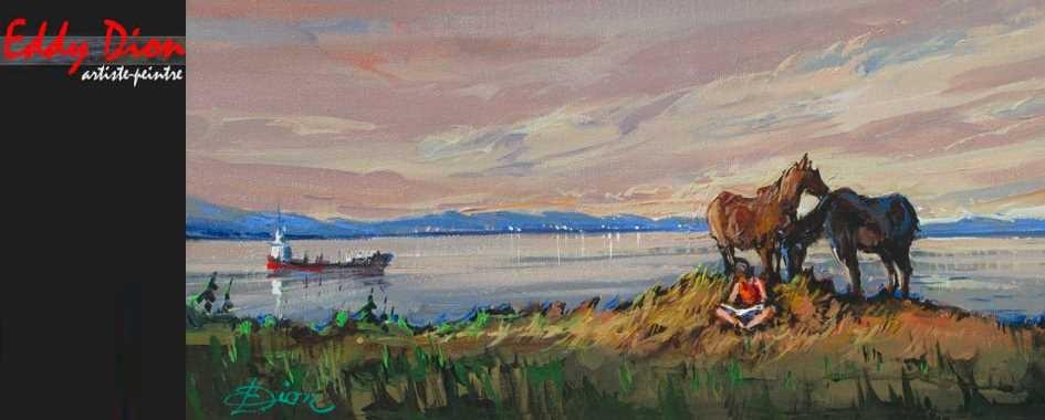 Eddy Dion Artiste peintre