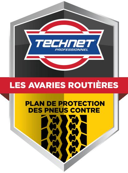 Plan de protection des pneus contre les avaries routières