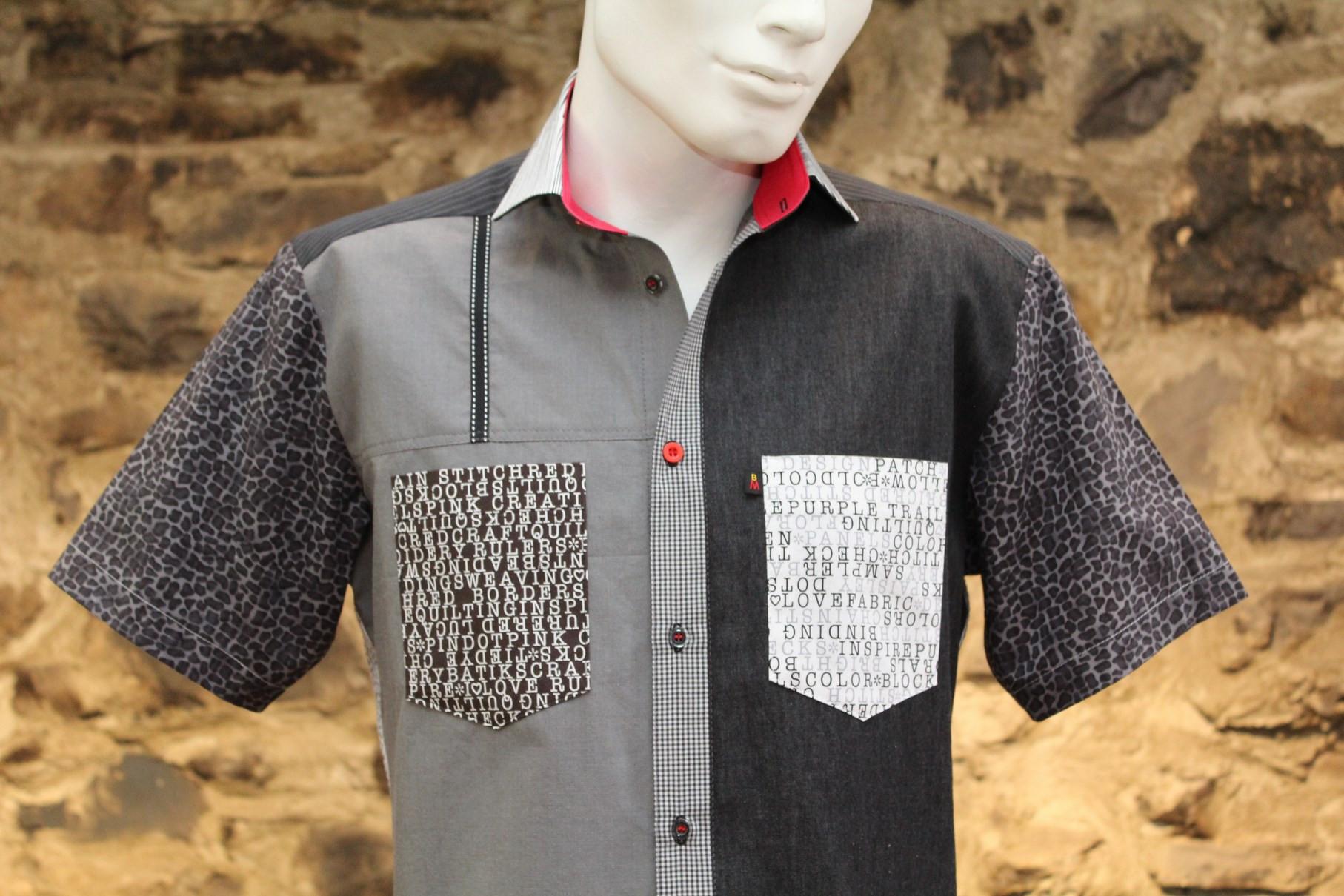 1-164 Chemise à manches courtes