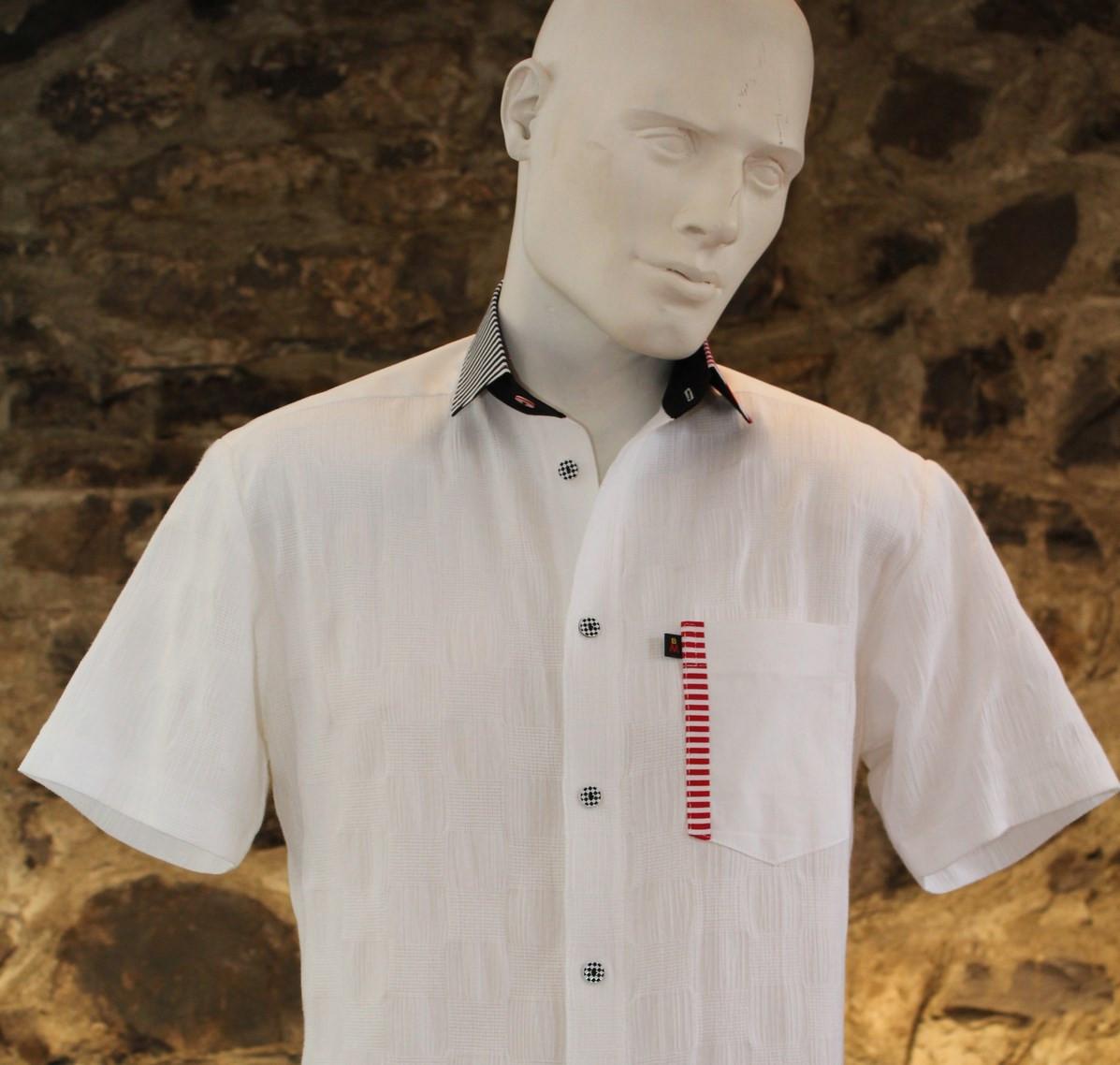 1-163 Chemise à manches courtes