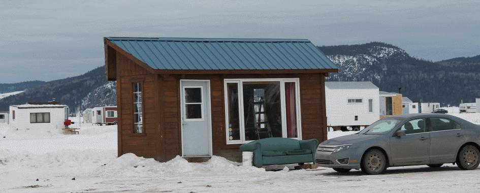 Pêche blanche Saguenay