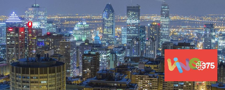 Célébrez la vivacité de Montréal