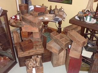 Anciennes boîte en bois