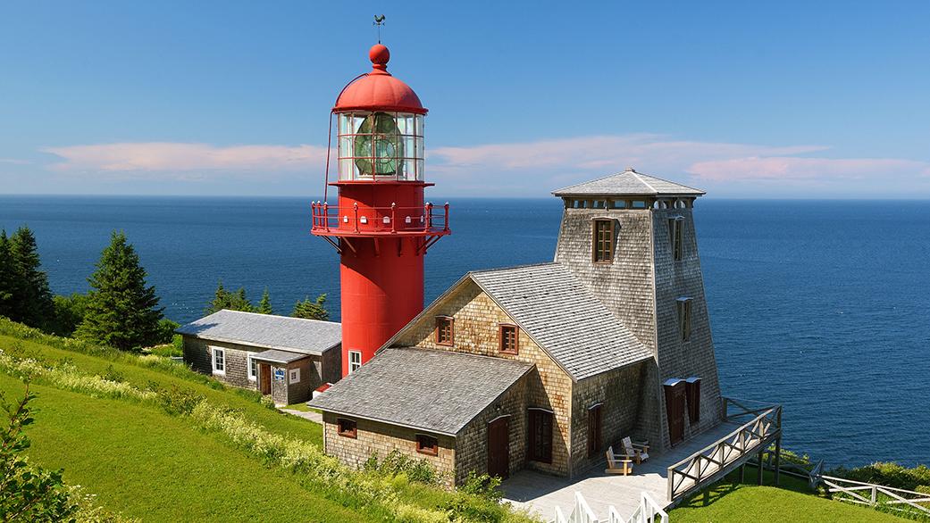 Phare Pointe-à-la-Renommée Gaspésie
