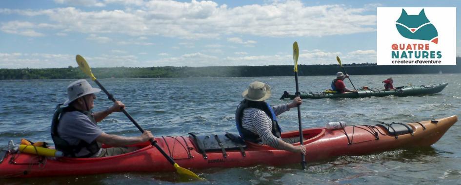 Kayak de mer Quatre Natures