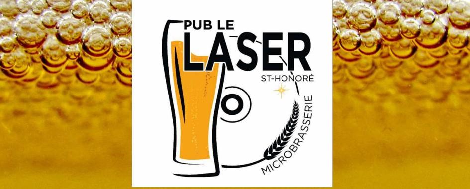 Pub le laser