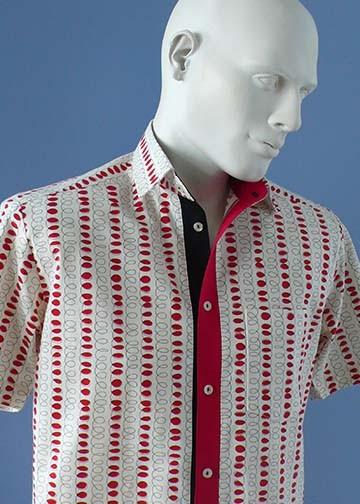 1-078 Chemise à manches courtes