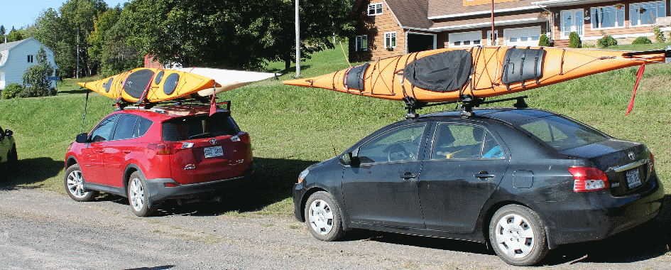 Circuits de kayak de mer