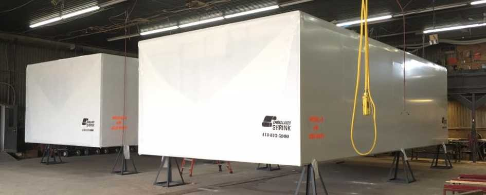 Les Emballages Shrink Bâtiments industriels