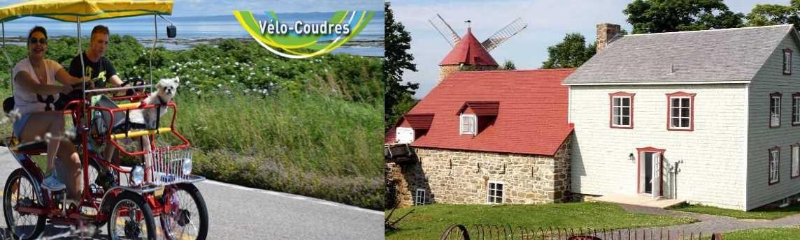 Escapade en vélo et Moulin de L'Isle