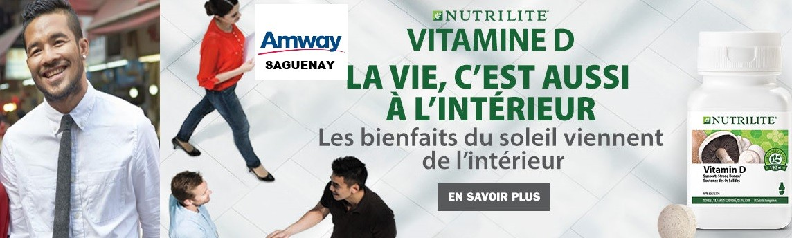 Votre santé, les produits Amway