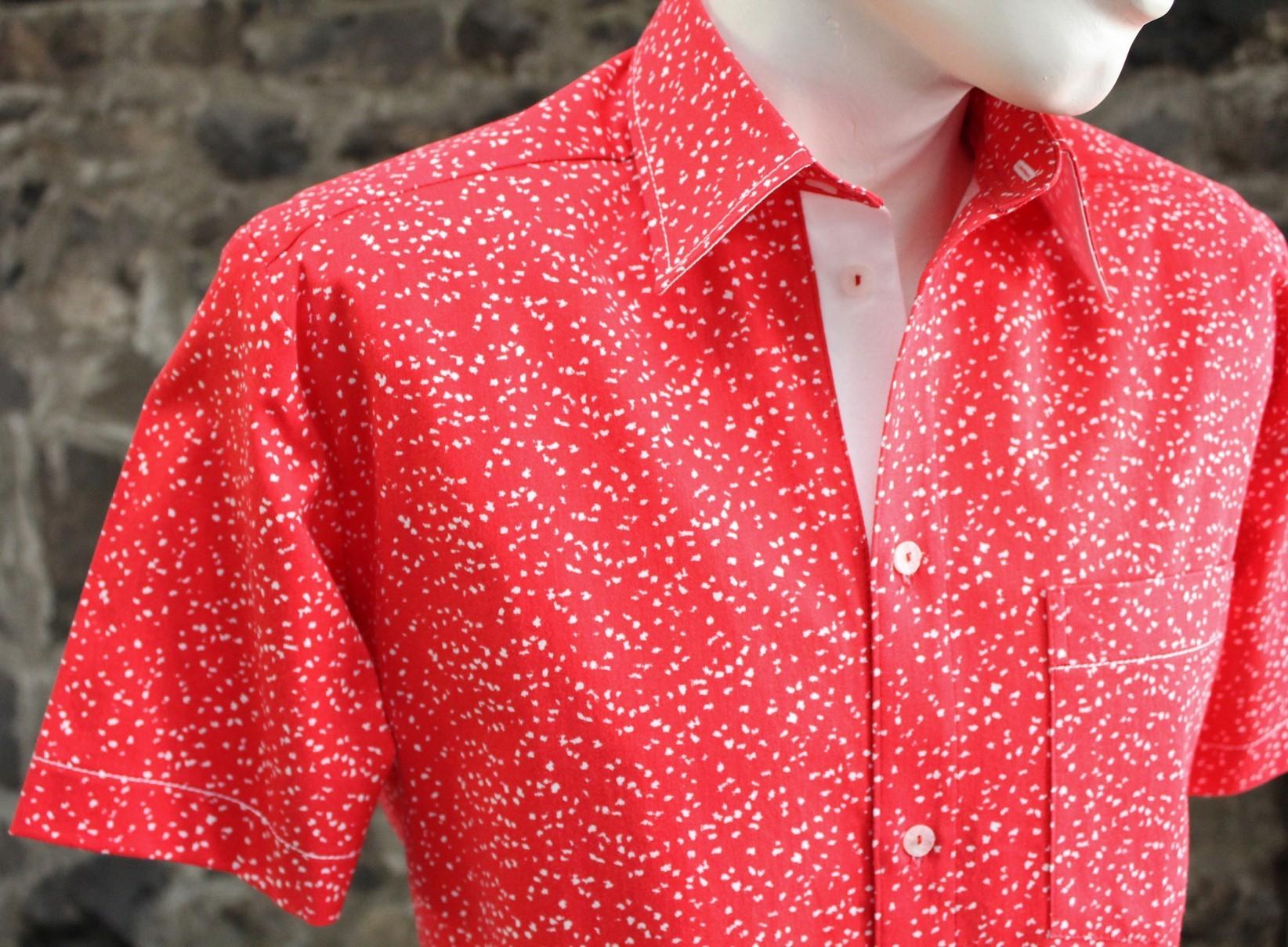 1-016 Chemise à manches courtes