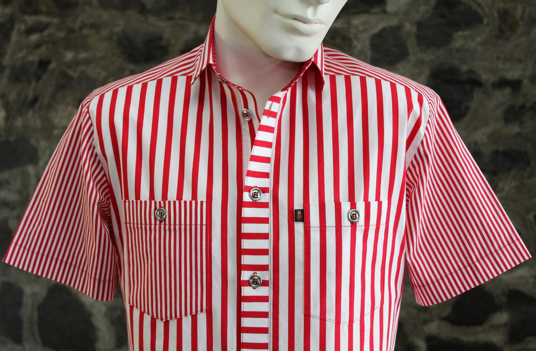 1-112 Chemise à manches courtes