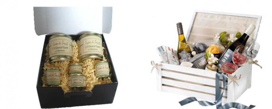 Boîte cadeaux gourmandes