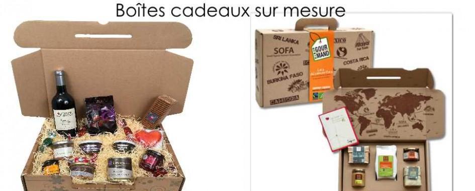 Boîte cadeaux sur mesure