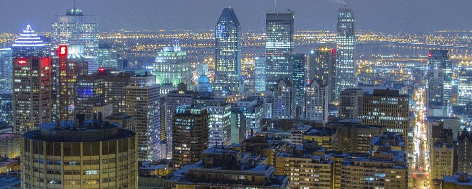 Montréal vue du Mont-Royal