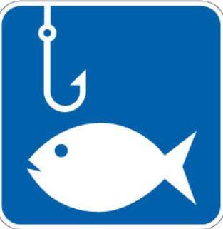 Pêche à gué