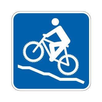 Sentiers vélo de montagne